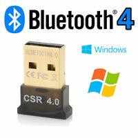 Mini USB Blutooth V 4.0 Adapter Wireless Dongle EDR for PC Windows Pug&Play UK