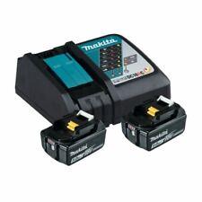 Makita 18V Batterie + Chargeur puissance Source Kit 2x Batterie 5,0Ah