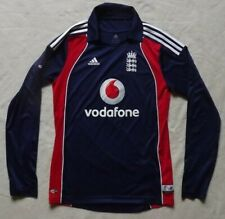 ADIDAS..SMALL..MEN'S LONG SLEEVE 2008/09 ODI CRICKET TOP JERSEY..S..VODAFONE
