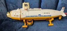 1983 Nikko Rc Radio Control Exploration Submarine 1/250 - For Parts As Is