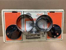 Harley Davidson Chrome Speedometer & Tachometer Bracket Kit 67294-95