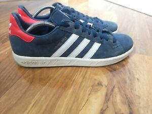 Adidas Originals Grand Prix 2013 mens Retro suede trainers, size 10 UK GREAT