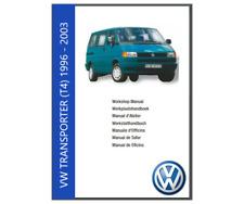 Volkswagen VW T4 Transporter  Workshop Manual (1996-2003)