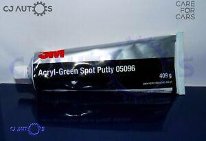 3M Acryl Green Glaze Putty 05096 409g Primer Pin Hole Spot Filler Fast Easy Sand
