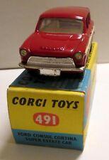 Corgi Toys 491 Ford Consul Cortina Super Estate,     original