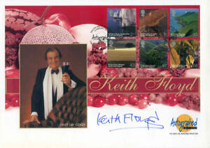 GB 2005 South West England FDC Signed by Keith Floyd