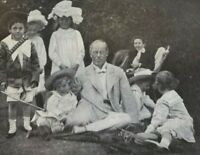 1908 Actor Richard Mansfield illustrated
