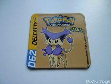 Magnet Staks Pokémon Advanced / 062 Delcatty / Panini 2003 [ Neuf ]