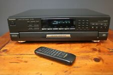Technics SL-PD9 5 Disc Roulette CD Player Multi Play Changer Optical & Remote