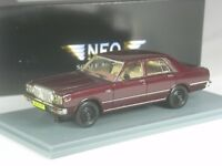 Klasse: Neo Scale Models Datsun Laurel  braunrot metallic in 1:43 in OVP
