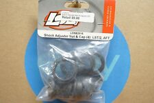 Team Losi LOSB2815 Shock Adjuster Nut & Cap Set (4) for LST, LST2, Aftershock
