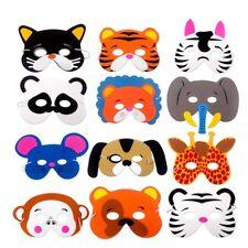 Animal Masks Jungle Safari Party Halloween Costume Props Toy Kids Birthday Decor