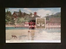 JAPAN MK 1960 TIERE WILD HIRSCH REH DEER MAXIMUMKARTE MAXIMUM CARD MC CM c8268