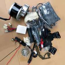 Motors Kits Electric Bicycle Assembly Part Brush Geared Conversion + Charger SGU