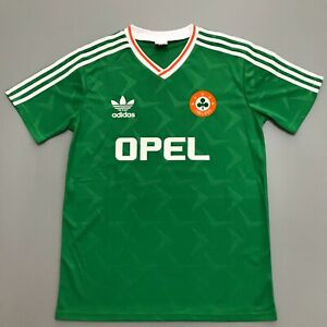 Republic Of Ireland 1990 Retro Football Shirt Vintage Soccer Jersey Keane #10