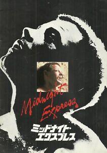MIDNIGHT EXPRESS(1978)BRAD DAVIS ORIGINAL JAPANESE MOVIE PROGRAM NICE!