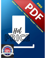 Pro PDF Editor   Creator   Reader   Viewer   Converter - Hot Price and Fast Del