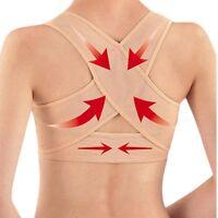 Damen Verstellbar Schulter Haltung Korrektor Brust Schiene Stütze Gürtel Gut
