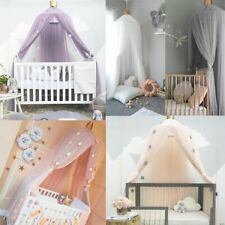 HOT Kids Baby Soft Bed Canopy Bedcover Mosquito Net Curtain Bedding Dome Tent UK