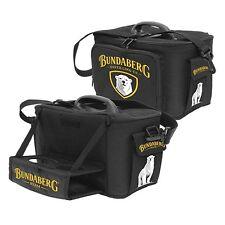 120594.1 BUNDABERG BUNDY RUM BEAR BLACK LARGE INSULATED COOLER BAG WITH TRAY