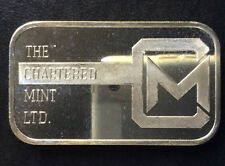 The Chartered Mint Commercial Silver Art Bar A2610