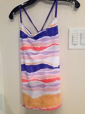 LULU LEMON DACING WARRIOR TANK SIZE 6