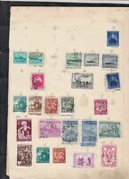 belgium  stamps page ref 18064