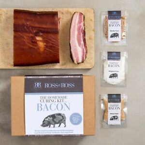 Ross & Ross Homemade Bacon Curing Kit - Original Sweet and Smoky