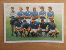 ITALY 1982 - WORLD CUP WINNING TEAM PHOTOGRAPH - MARS CONFECTIONERY - POSTCARD