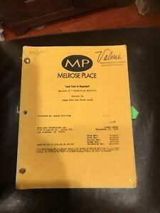 Original MELOSE PLACE Valerie Harper personal script