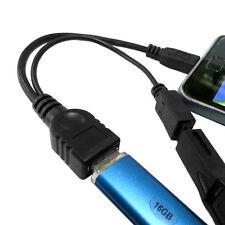 Micro-USB-Host-OTG-Kabel mit Micro Power für Nexus 4 5 7 10 Galaxy Nexus