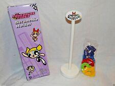 "New In Box The Powerpuff Girls Scrunchie Holder 6- Multi-Color Scrunches 10"" H"