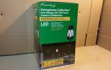 Malibu Georgetown Collection Low Voltage Blk LED Tiki Torch/Lantern 8401-5530-01