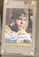 WALTER KOENIG ENSIGN CHEKOV Star Trek The Original Series TOS Autograph Card A62