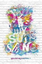 (LAMINATED) YOU ARE MY SUNSHINE MOTIVATIONAL POSTER (61X91CM) NEW WALL ART