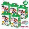100 Sheet Fujifilm Instax Mini Film For Fuji Mini 9 8 90 50 7s SP-2 Polaroid 300