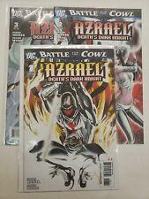 AZRAEL: DEATH'S DARK KNIGHT #1-3 COMPLETE SET VF/NM 2009 DC COMICS NICIEZA.