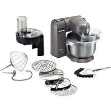 Bosch MUMX30GXDE MaxxiMUM Küchenmaschine Titanium Silver
