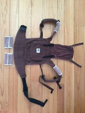 Ergobaby Organic Baby Carrier Chocolate color in excellent condition