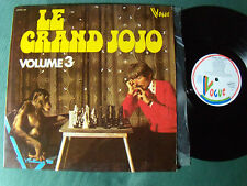 LE GRAND JOJO : Volume 3 -  LP 1975 Belgium VOGUE CPRVB 068 chimpanzé monkey