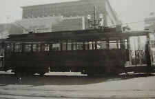USA187 - MARKET STREET Railway Co SAN FRANCISCO - TROLLEY TRAM No110 PHOTO USA