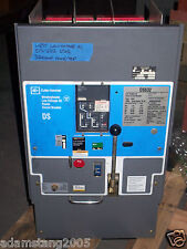 Westinghouse Ds-632 3200 Amp Trip Lsig Ac Air Power Circuit Breaker Blue Face