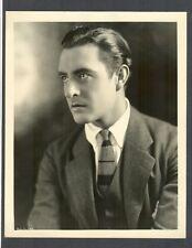 JOHN GILBERT BY C S BULL - N MINT DBLWT - GARBO'S CO-STAR AND LOVER - SILENT SIL