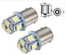 2x 12V Ba15S Lampe 5050 8 LED SMD R5W R10W 1156 Innenraum Leuchte Deutsche Post