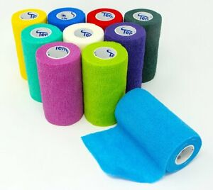 "Coban Self-Adherent Cohesive Bandage Multi-color NonSterile 3"" x 5 yd 1 Ct"