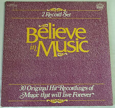 LP Believe in Music Various 2xLP OKeefe Darin Springfield Pitney Majestic NA449
