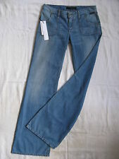 CALVIN KLEIN Damen Blue Jeans W27/L34 regular fit low waist flare leg zip fly