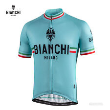 NEW Bianchi Milano ISALLE Short Sleeve Cycling Jersey : CELESTE