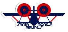 Santa Monica Airlines / SMA Skateboard Sticker - Classic Logo old school sk8 new