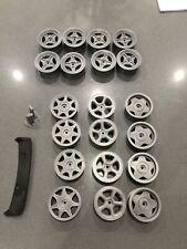 Radio Control Car Wheels 1:10 Scale Custom Made To Your Design 1/10th Tamiya